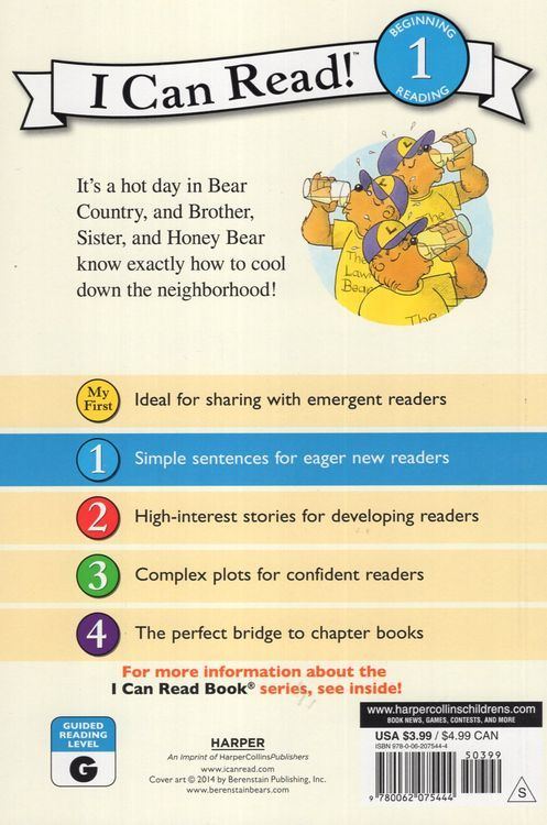 Berenstain Bears Lemonade Stand ( I Can Read Book Level 1 )