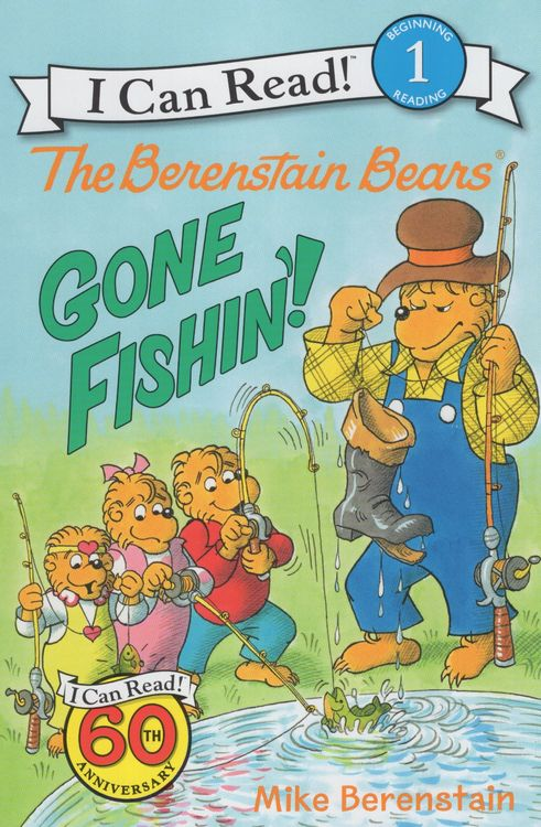 Berenstain Bears Gone Fishin I Can Read Book Level 1