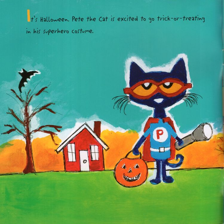 Pete The Cat Trick Or Pete Pete The Cat 8x8