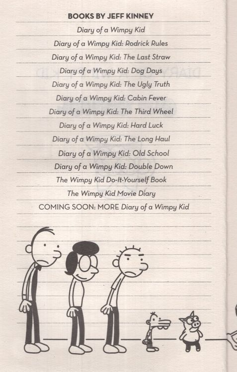 Last Straw Diary Of A Wimpy Kid 03 Paperback