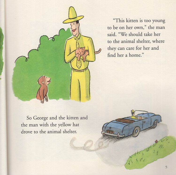Curious George And The Puppies 8x8 A
