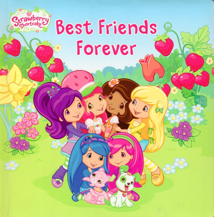 Best Friends Forever Strawberry Shortcake Padded Board Book