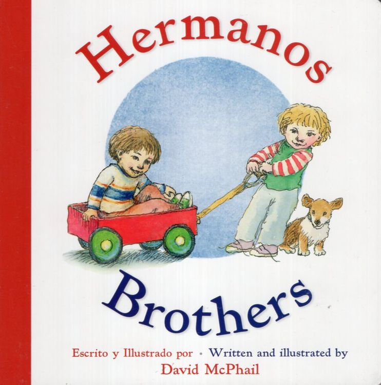 Brothers / Hermanos (Board Book)