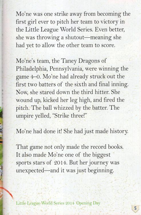 Go Mo: Mo'ne Davis: The Girl Who Changed Baseball History