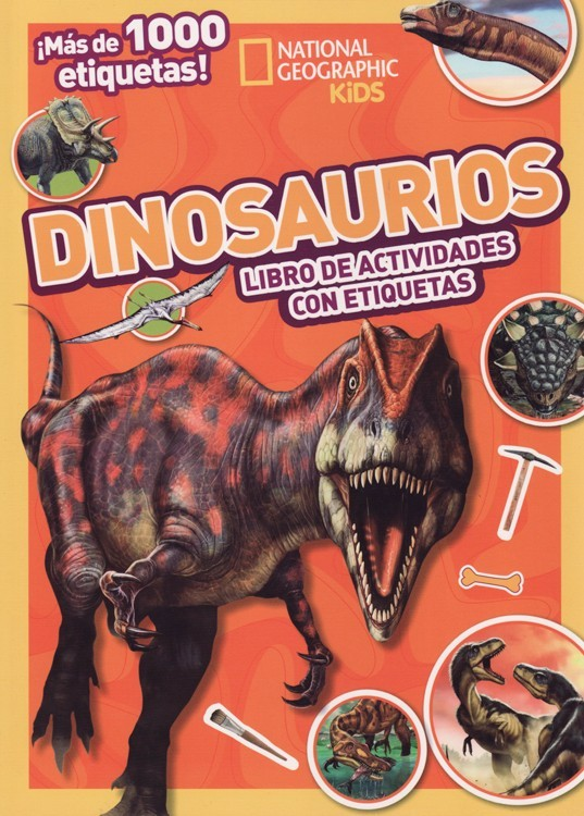 Dinosaurios Mi Mejor Coleccion De Etiquetas National Geographic Kids Spanish The mission of dinosaur kids is to create resources that inform, inspire. national geographic kids spanish