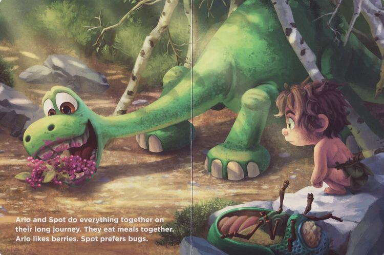 Arlo And Spot Disney Pixar The Good Dinosaur Board Book