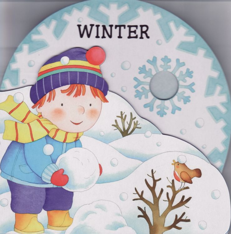 Winter ( My First Seasons ) (Board Book)