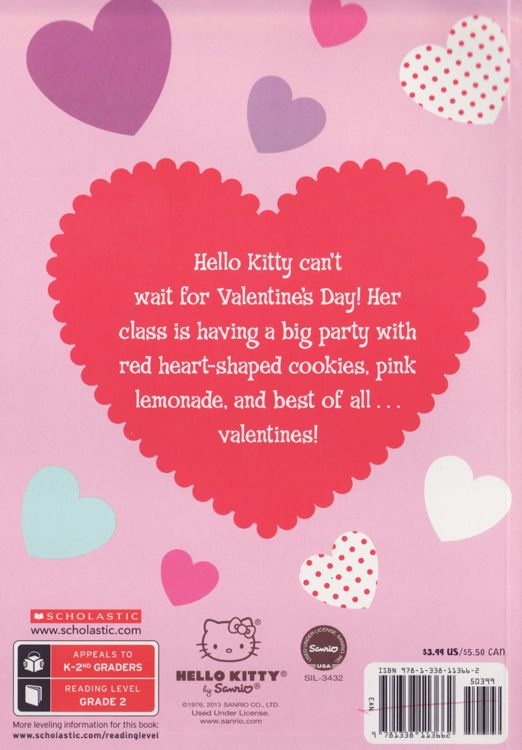 Happy Valentineu0027s Day ( Hello Kitty ) ( Scholastic Reader Level 2 )