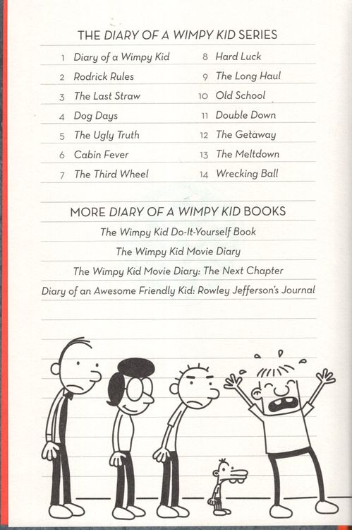 Wrecking Ball Diary Of A Wimpy Kid 14 Hardcover