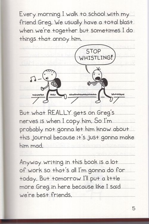 Diary Of An Awesome Friendly Kid Rowley Jefferson S Journal