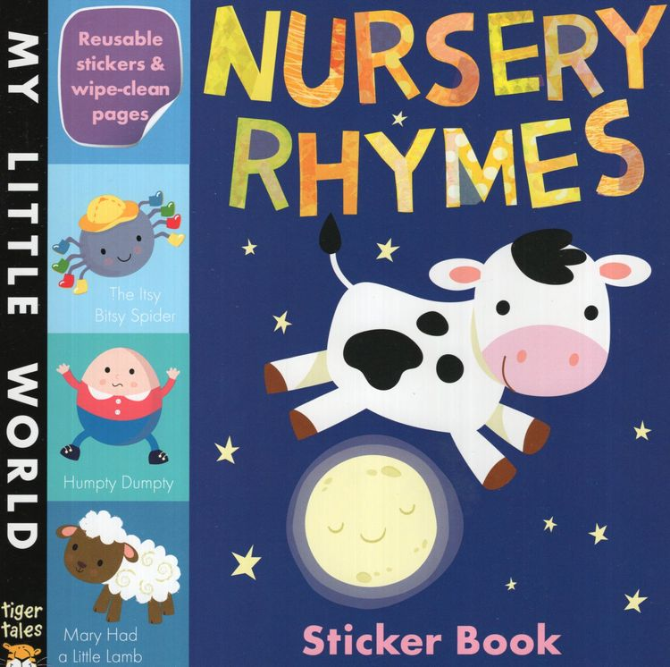 Nursery Rhymes Sticker Book ( My Little World )