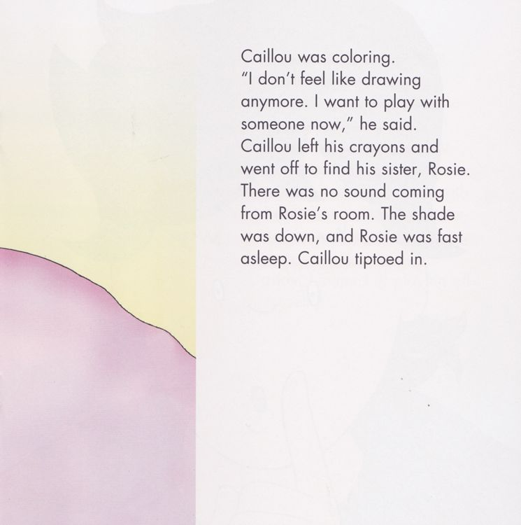 Caillou and Gilbert ( Caillou Clubhouse ) (8x8)