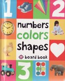 Numbers Colors Shapes (Padded Board Book)