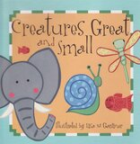 Creatures Great and Small ( First Words ) ( Board Book )