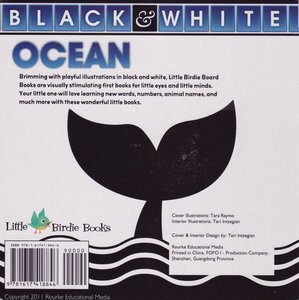 Ocean ( Black and White Board Book ) (6x6)