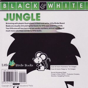 Jungle ( Black and White Board Book ) (6x6)