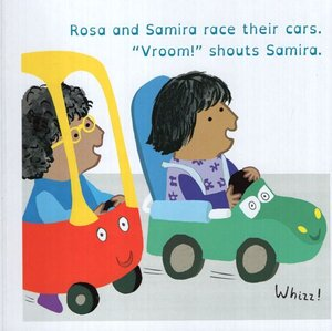 Rosa Loves Cars ( All About Rosa ) (Board Book) (6x6)